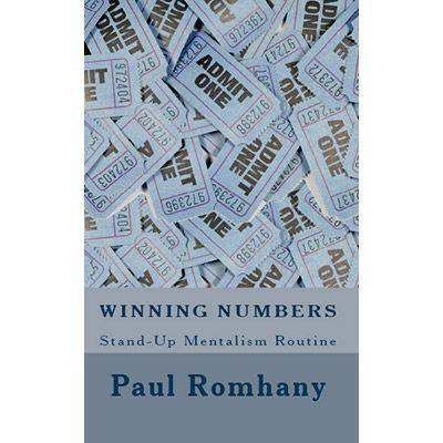 Winning Numbers Pro Series Vol 1 - Paul Romhany - eBook DOWNLOAD