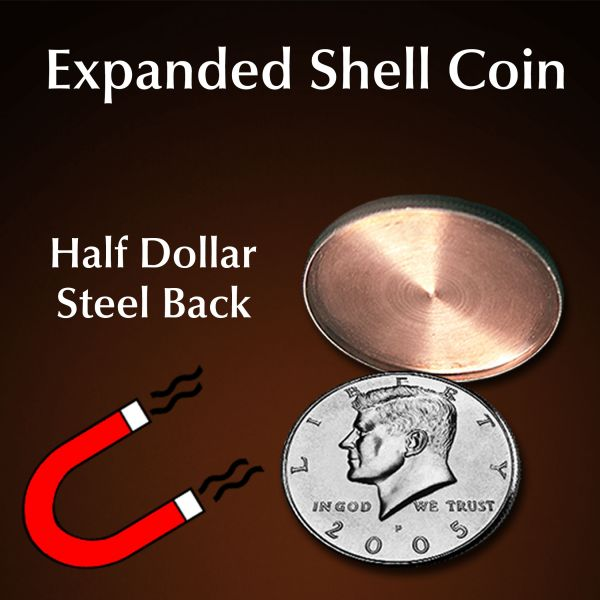 Steel Back Half Dollar