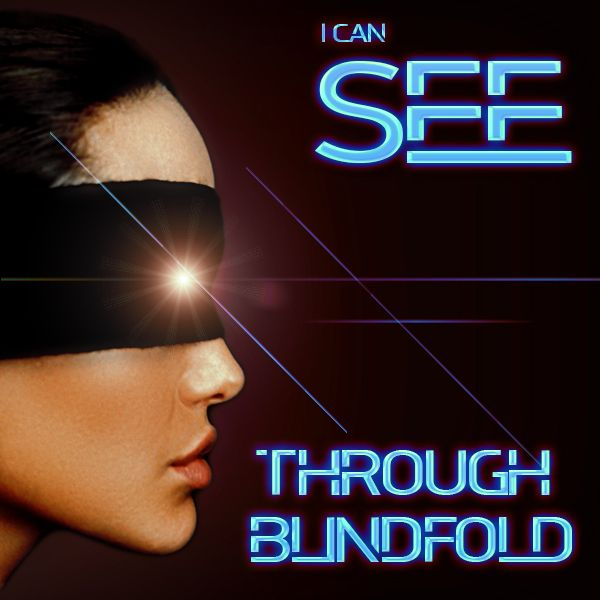 See through Blindfold Mentaltrick Stand Up