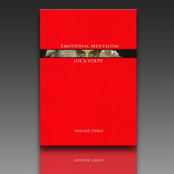 Emotional Mentalism - Luca Volpe Vol. 3 Zauberbuch
