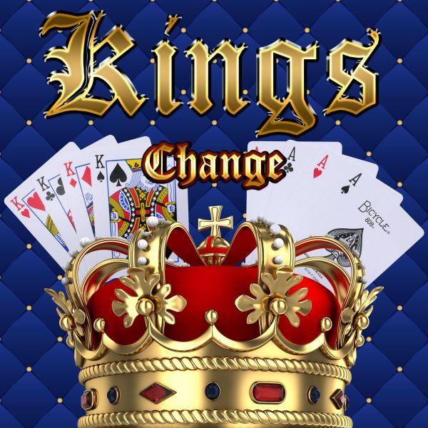 Kings Change Kartentrick für Anfänger. Leicht zu lernen. Königkarten werden zu Assen und dann zu Blankokarten.