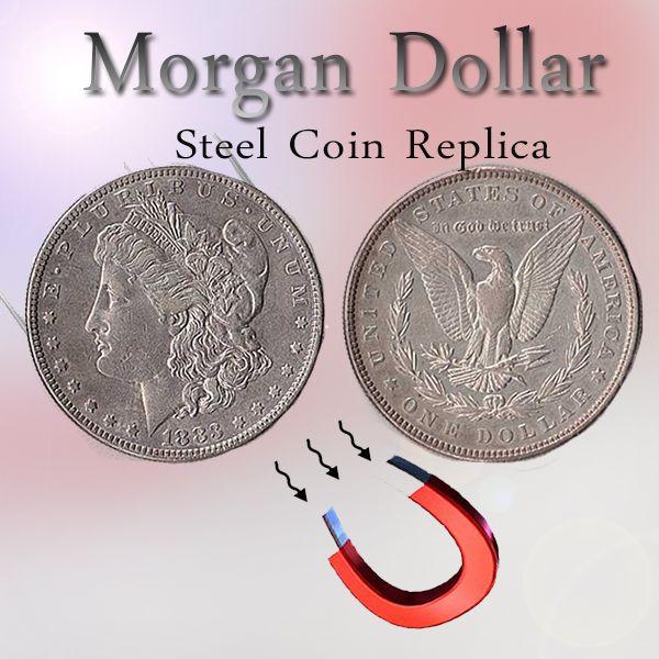 Morgan Dollar - Steel Coin