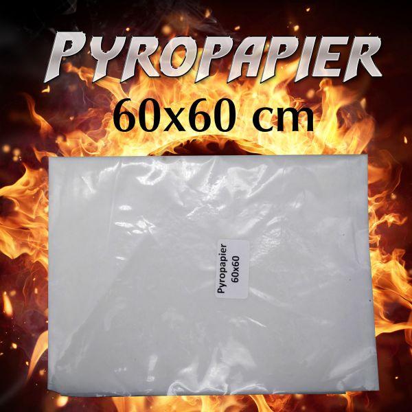 Pyropapier 60cm x 60cm Pyroeffekt Zauberzubehör