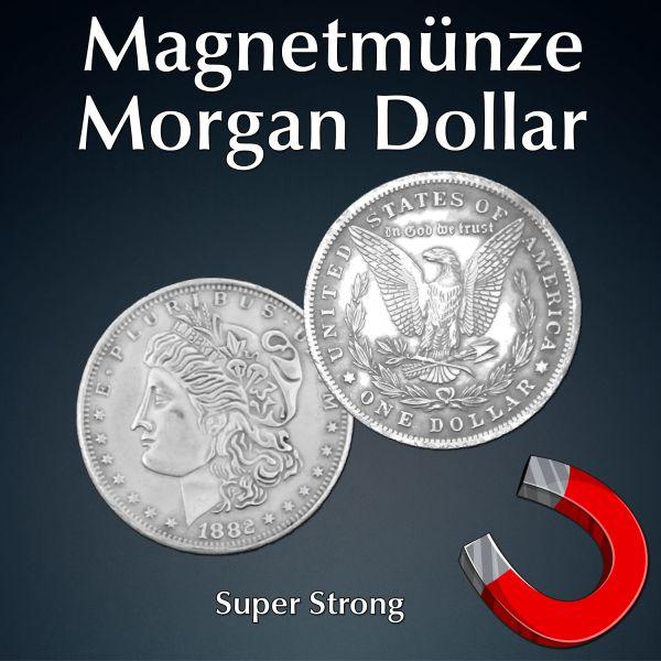 Magnetmünze Morgan Dollar super strong