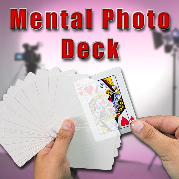 Mental Photo Deck Trickkartenspiel