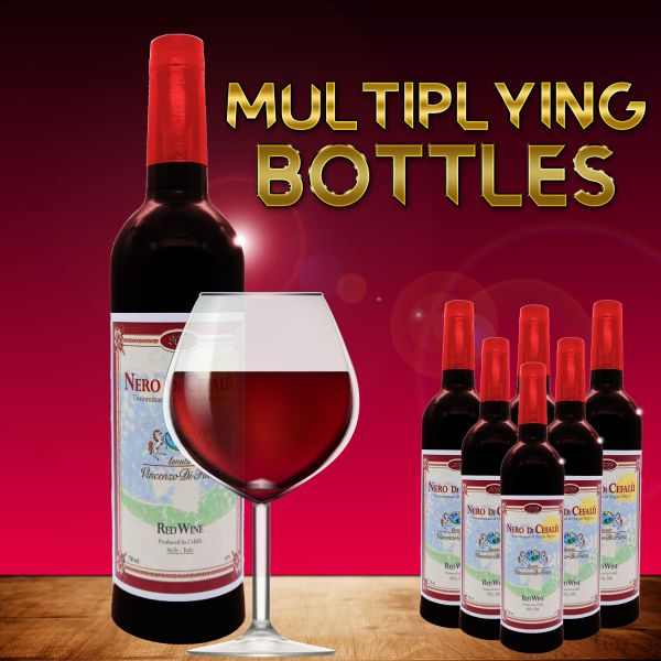 Multiplying Bottles 6er Satz Zaubertrick