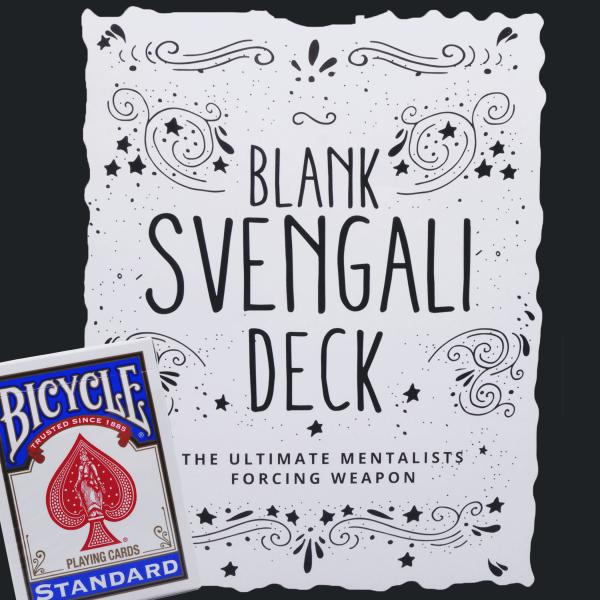 Blank Svengali Deck Trickspiel