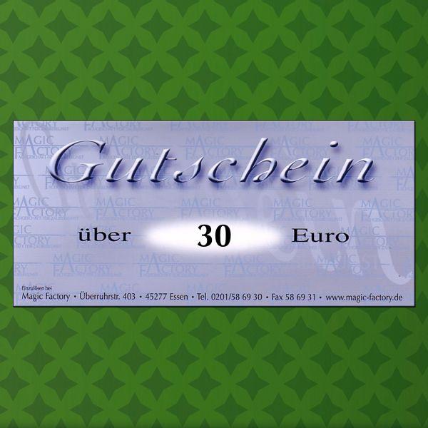 Gutschein für Zaubertricks 30€