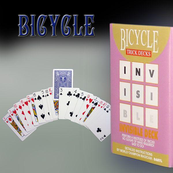 Invisible Deck Trickkartenspiel