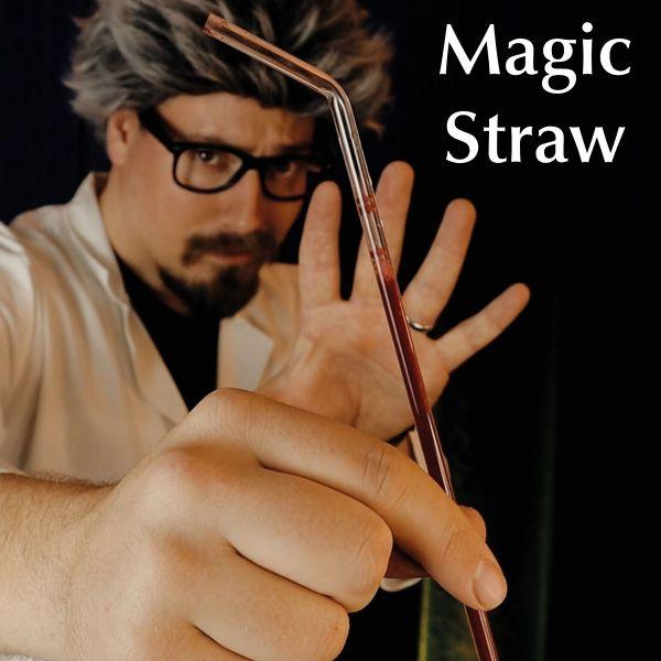 Magic Straw Zaubertrick