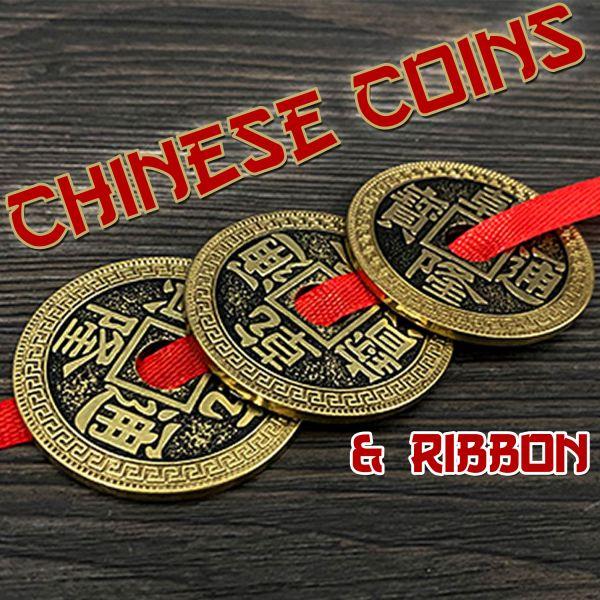 Chinese Coins & Ribbon Zaubertrick mit Münzen