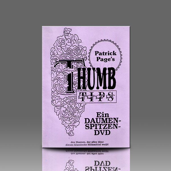 Thumb Tips Patrick Page DVD
