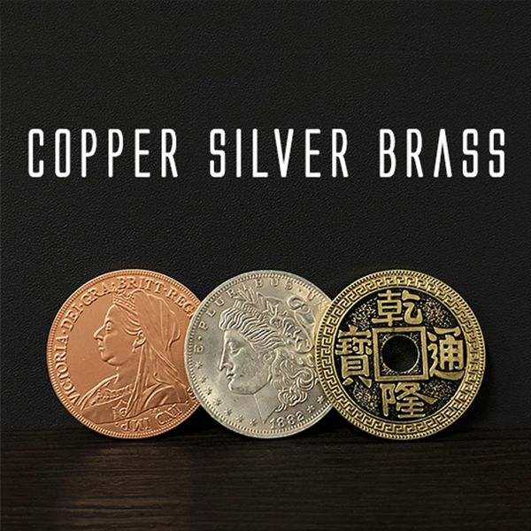 Copper Silver Brass Morgan Dollar Zaubertrick mit Münzen