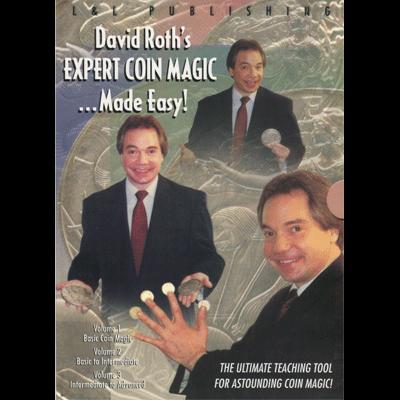 David Roth Expert Coin Magic Made Easy (3 Vol. set) video DOWNLOAD