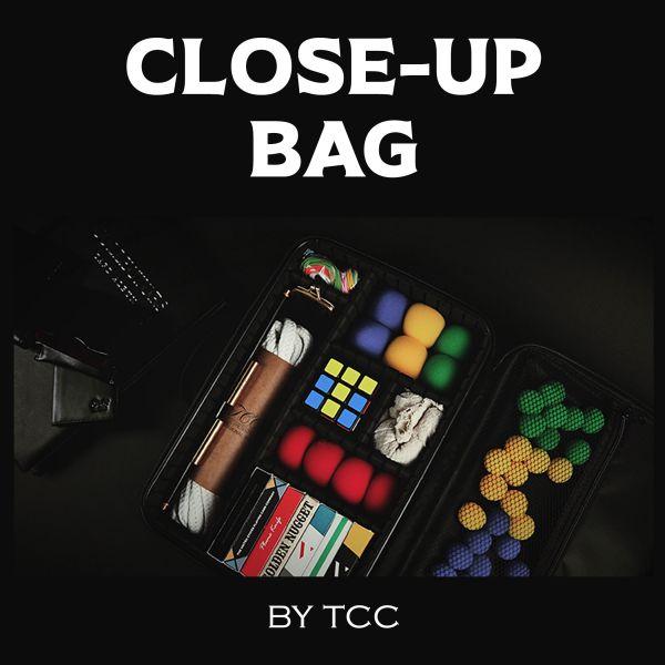 Close-Up Bag by TCC. Tasche für Close-Up Zaubertricks. Transporttasche mit Fächern.