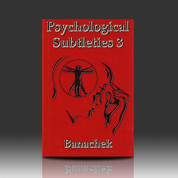 Psychological Subtleties 3 - Banachek Zauberbuch