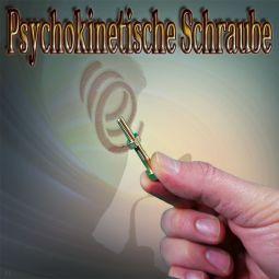 Psychokinetische Schraube Mentaltrick