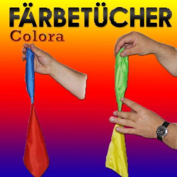 Färbetücher Colora Zaubertrick für Anfänger