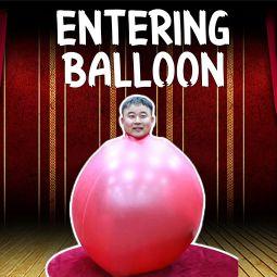 riesengroßer Balloon für Bühneneffekte