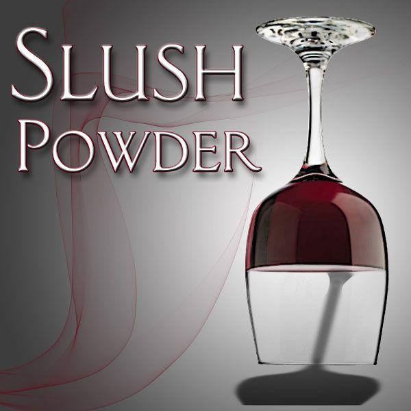 Slush Powder Zaubertrick Bühne