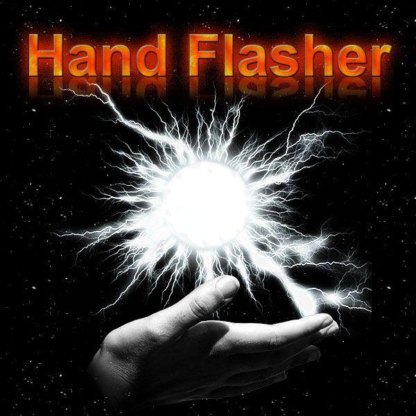 Hand Flasher Zauberzubehör um einen Blitz erscheinen zu lassen