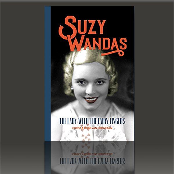 Zauberbuch Englisch, Biographie der Zauberin Suzy Wandas.